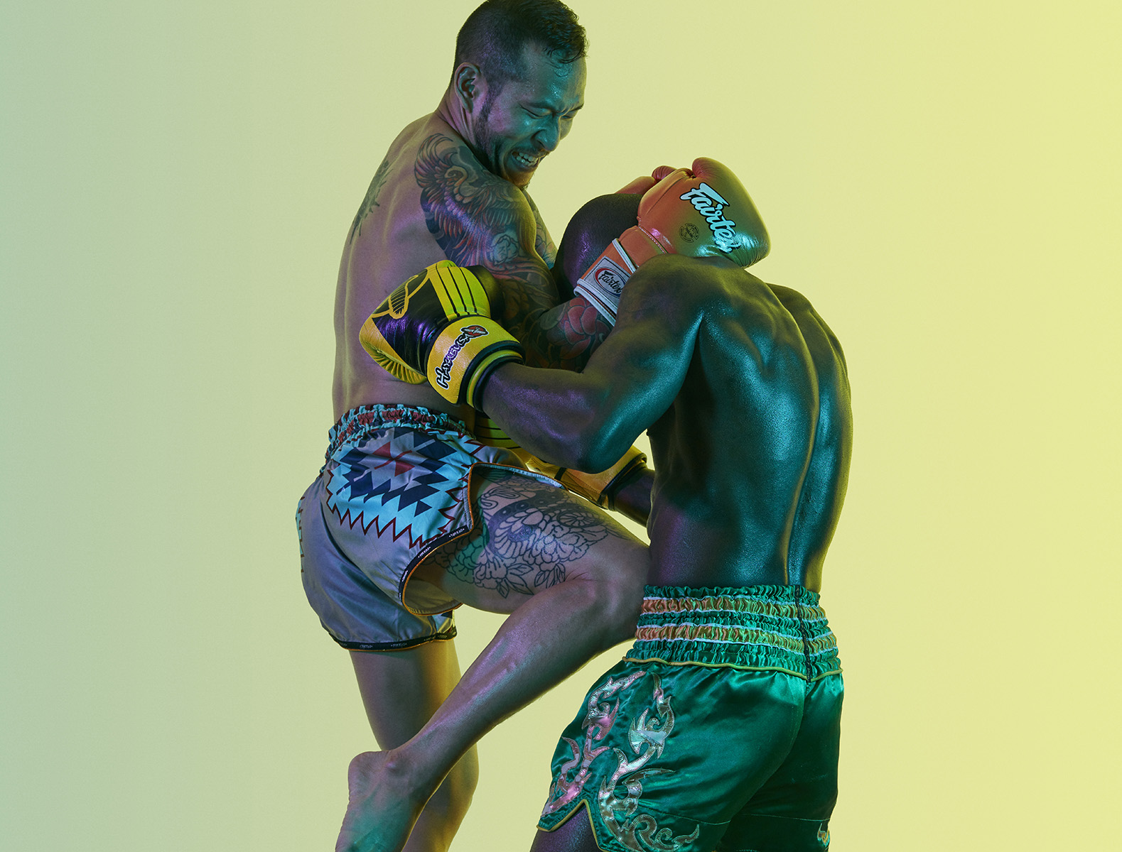 Muay Thai Boxing, personal