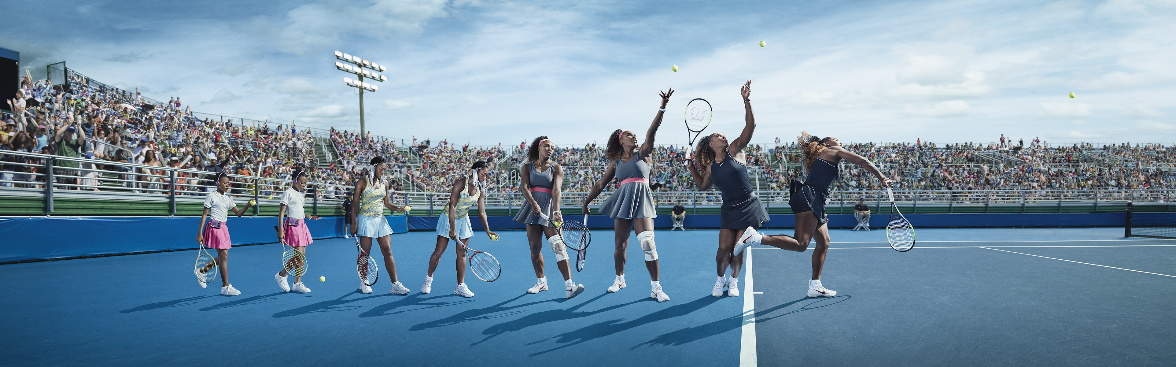 Serena Williams, Axa Insurances, Publicis Paris