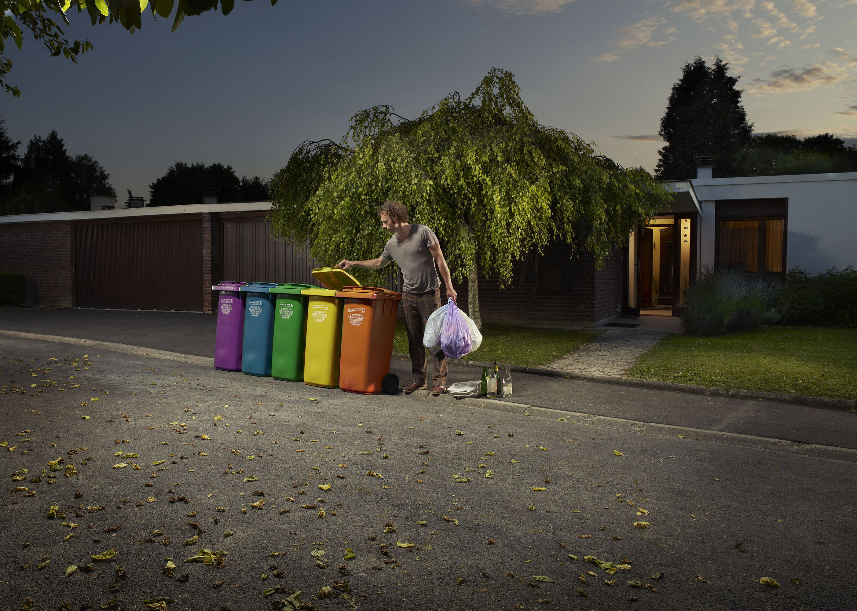 Recycling story, Le Monde
