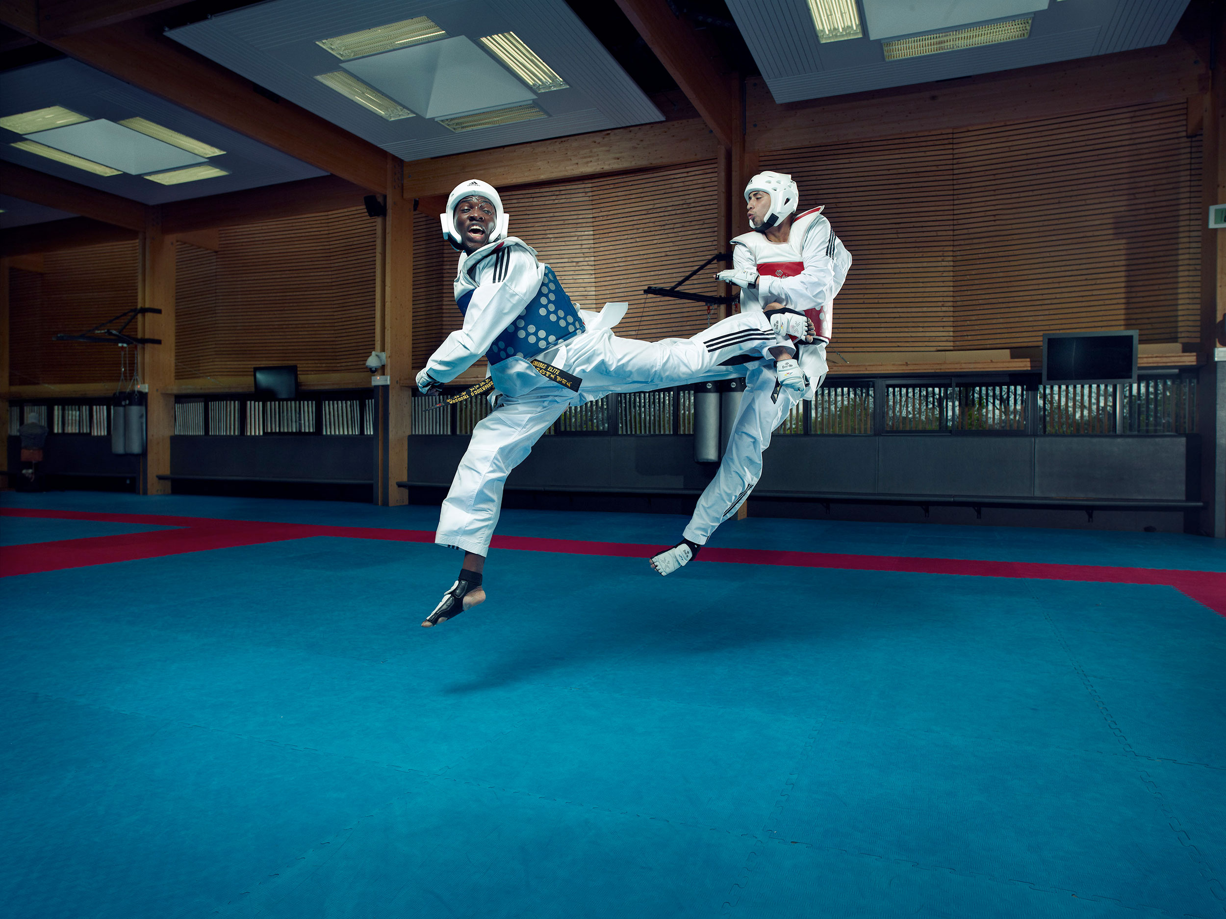 Taekwondo, french Olympic game team