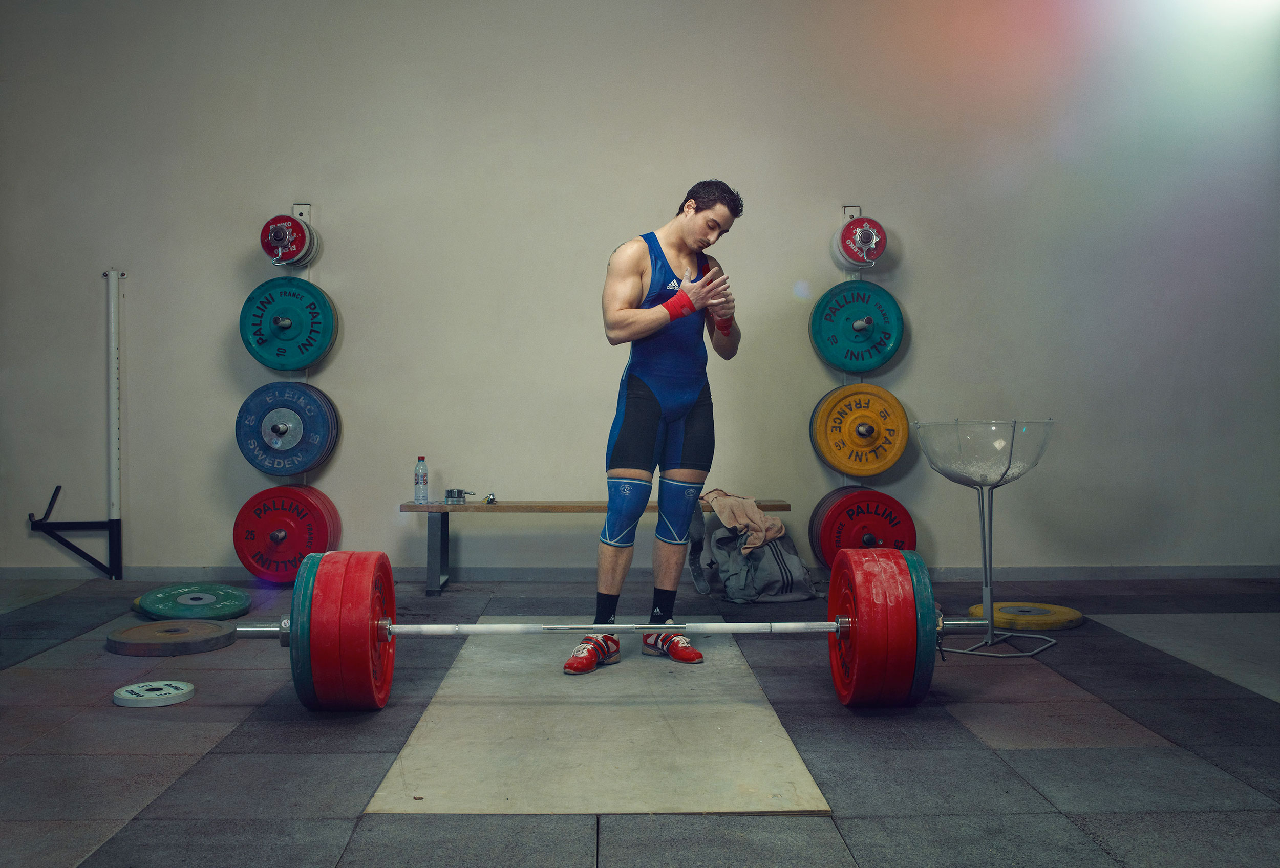 WeightLift Training, Olympic Game, Personal